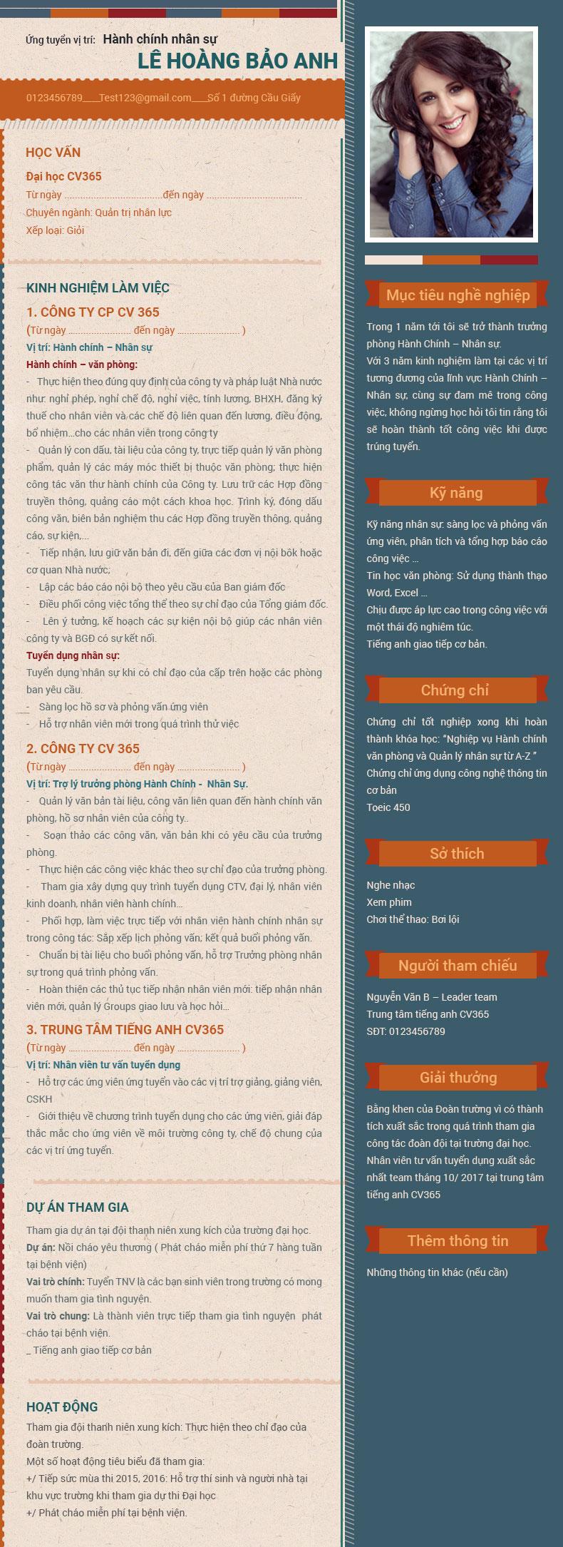 hướng dẫn chi tiết cách viết một cv xin việc đầy đủ