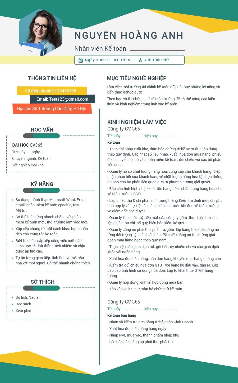 hướng dẫn cách viết cv xin việc trợ giảng hiệu quả
