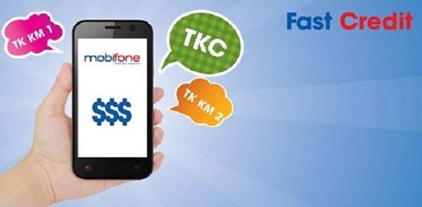 ứng tiền điện thoại Mobifone