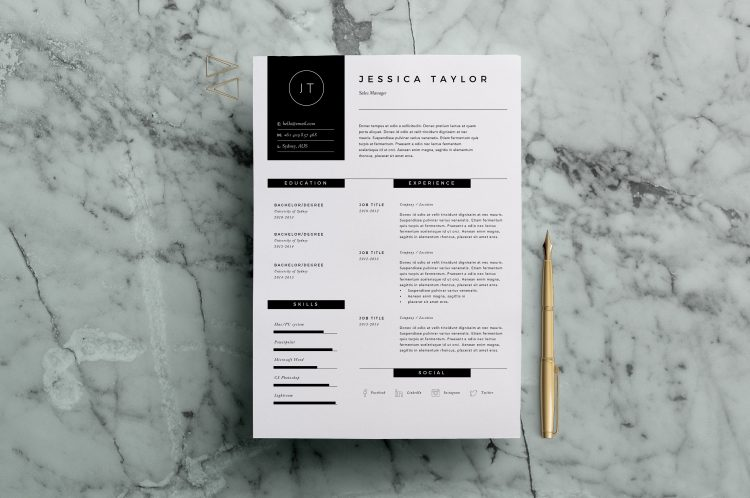 viết đơn xin việc 5