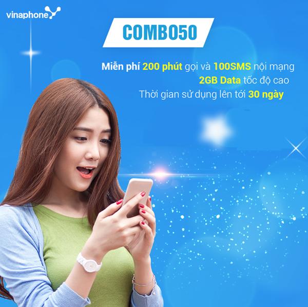 booksviet.com - Gói Combo50 của  Vinafone dùng như nào?