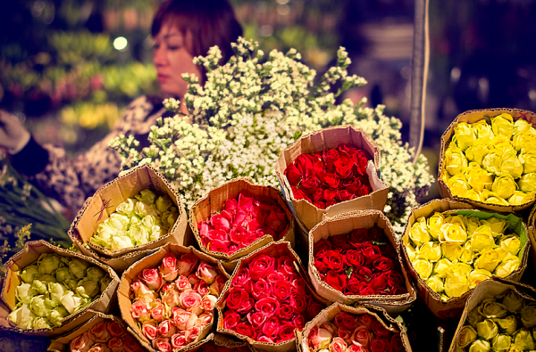 VnnewsWorld.com - Bí quyết bán hoa trang trí dịp Tết Nguyên Đán kiếm tiền triệu