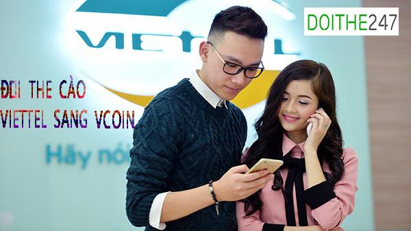 Mẹo đổi thẻ cào Viettel sang Vcoin chiết khấu 22.5%