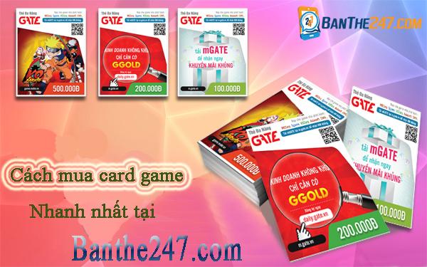 3 cách mua card game siêu nhanh mà bạn nên biết