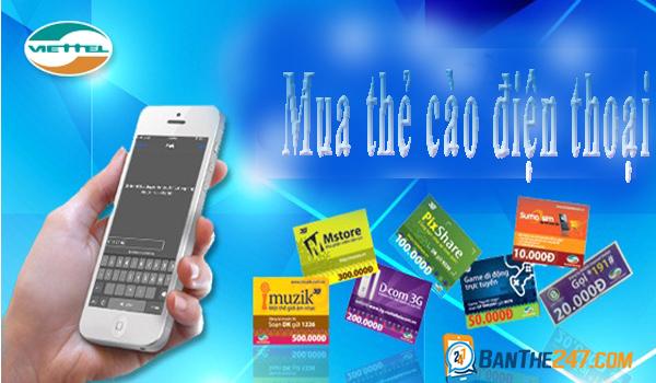 Hướng dẫn cách mua thẻ cào điện thoại nhanh chóng