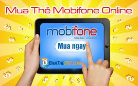 Các bước thực hiện để mua thẻ cào online Mobifone