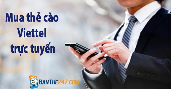 Hướng dẫn cách mua thẻ cào viettel trực tuyến ưu đãi nhất