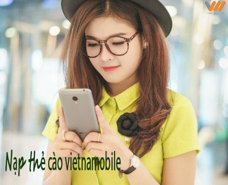 Tuyệt chiêu nạp thẻ cào Vietnamobile trong nháy mắt