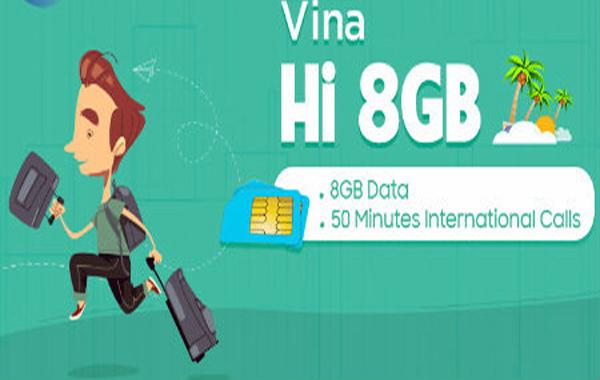 Gọi quốc tế, truy cập internet thả ga cùng sim Vina Hi mạng Vinaphone