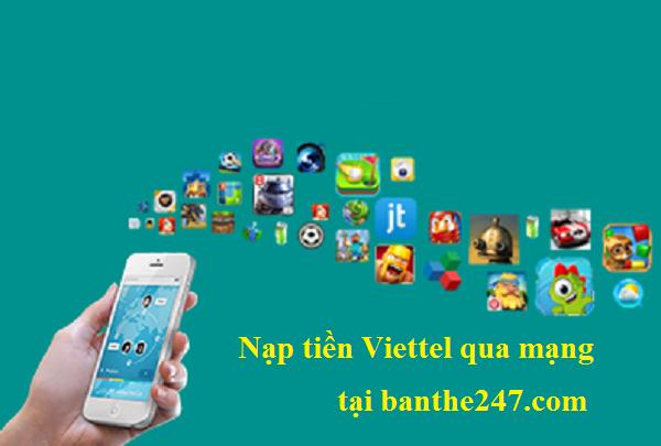 docthue.com - Tuyệt chiêu nạp tiền Viettel nhanh nhất hiện nay