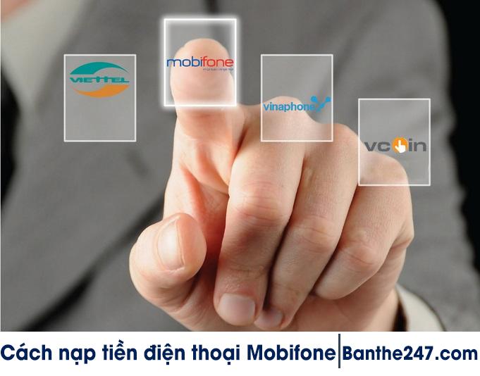 123doctin.com - Tuyệt chiêu nạp tiền điện thoại Mobifone nhanh chóng nhất