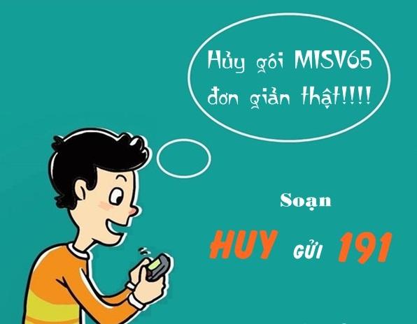 dangtin3s.com - Cách hủy gói MISV65 Viettel vô cùng nhanh chóng