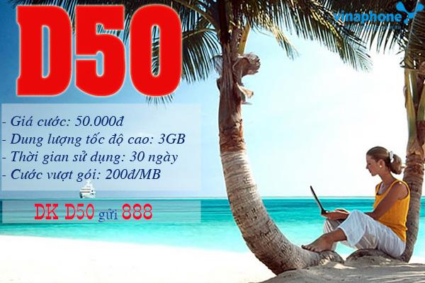 vnntinhay.com - Tìm hiểu thông tin về gói cước D50 ưu đãi Vinaphone