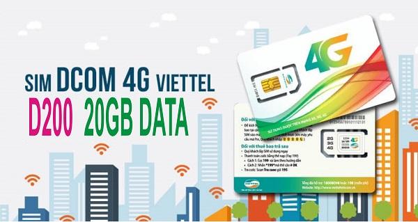 thichxemgi.com - Đăng kí ngay gói 3G D200 Viettel nhận ưu đãi