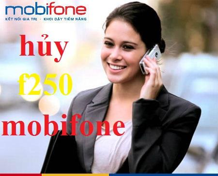 tintuc2k.com - Hủy nhanh gói F250 Mobifone đơn giản nhất