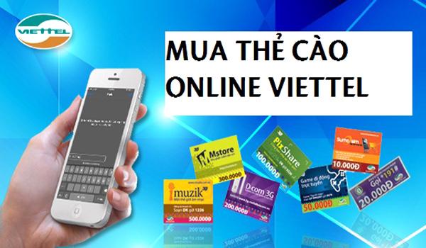Những lí do nên mua thẻ viettel online hiện nay