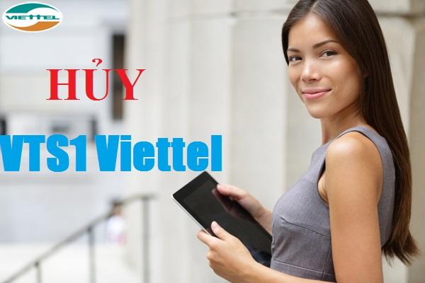 vncard247.com - Bật mí cách nhanh nhất để hủy gói cước VTS1 của Viettel