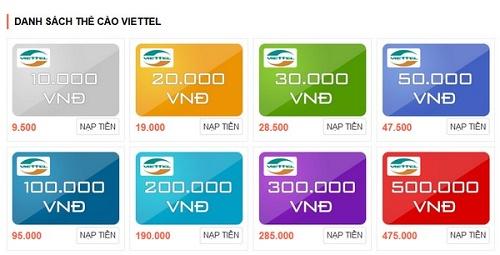 blogdoctin.net - Phương pháp đơn giản mua thẻ điện thoại mạng Viettel