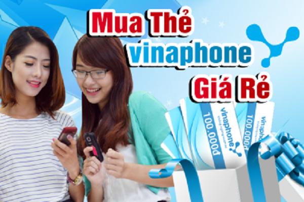 Mua thẻ điện thoại Vinaphone online giá rẻ, đơn giản nhất