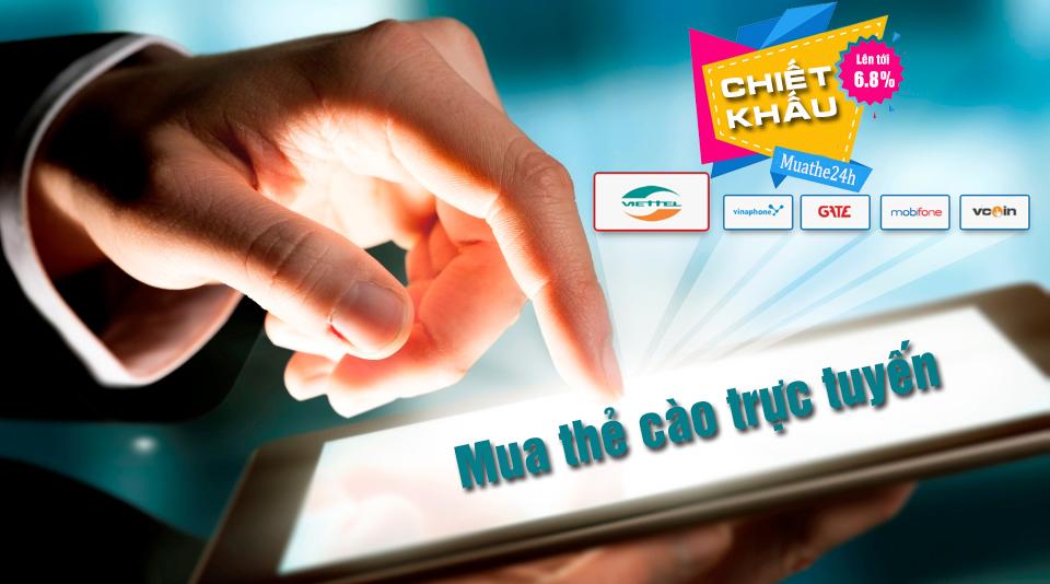 Cách mua thẻ cào Vinaphone trực tuyến nhanh chóng