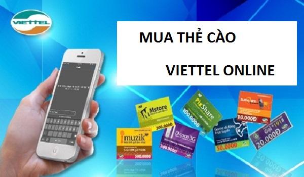 Cách đơn giản để mua thẻ cào Viettel online hiện nay