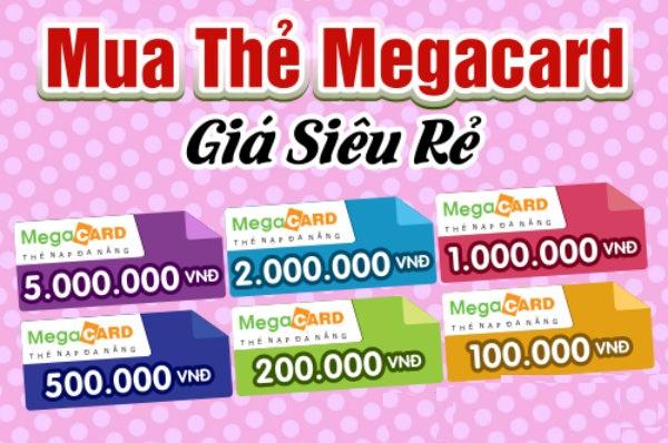 VnEdge.com - Hướng dẫn khách hàng mua thẻ megacard online đơn giản và nhanh chóng