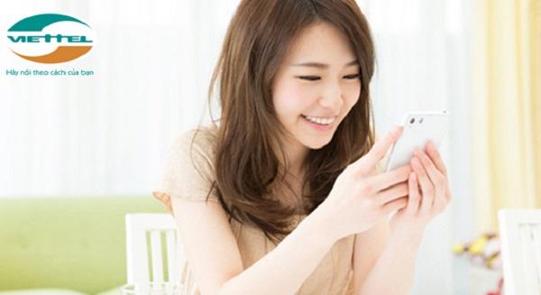 Hủy gói 3G Viettel đang dùng trên điện thoại bằng SMS đơn giản