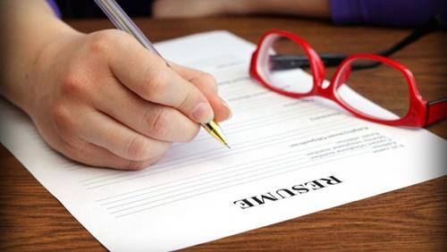Học cách viết sơ yếu lý lịch tiếng Anh đơn giản