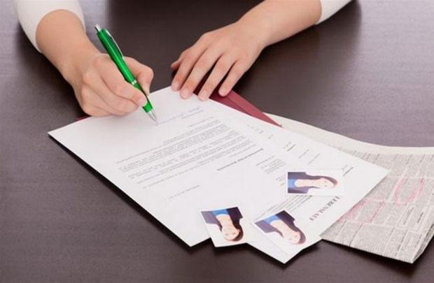 10 điều cần lưu ý khi trình bày đơn xin việc