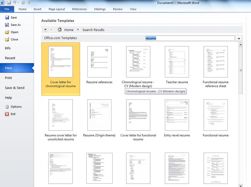 Cách thiết kế CV xin việc trên Microsoft mới và chuyên nghiệp nhất