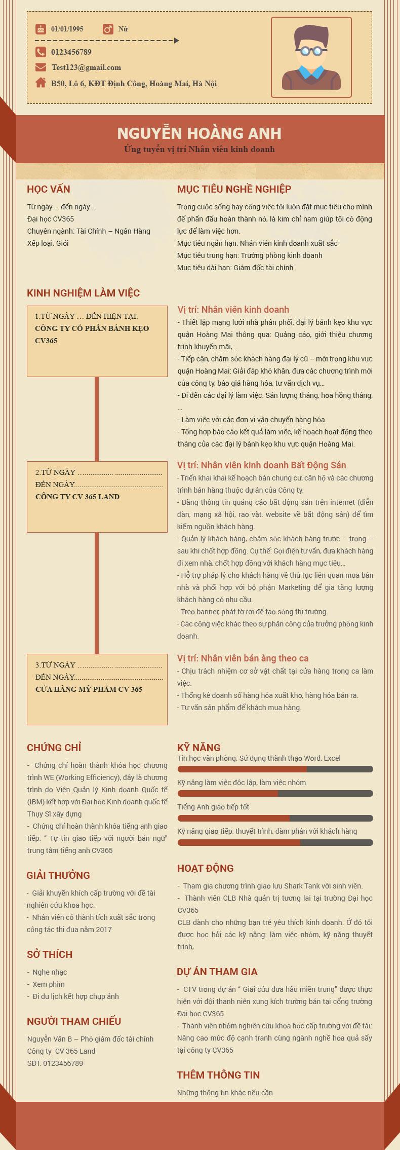 Xem mẫu CV xin việc để tránh những lỗi sau đây