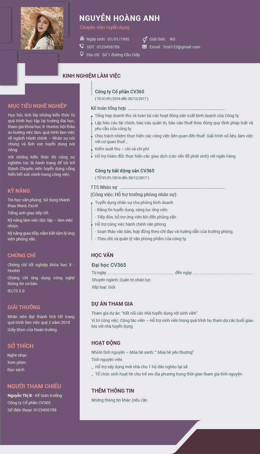 Hướng dẫn bạn cách viết chuẩn nhất CV xin việc ngành luật